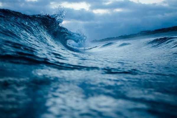 Genieten van het surfen op de golven!